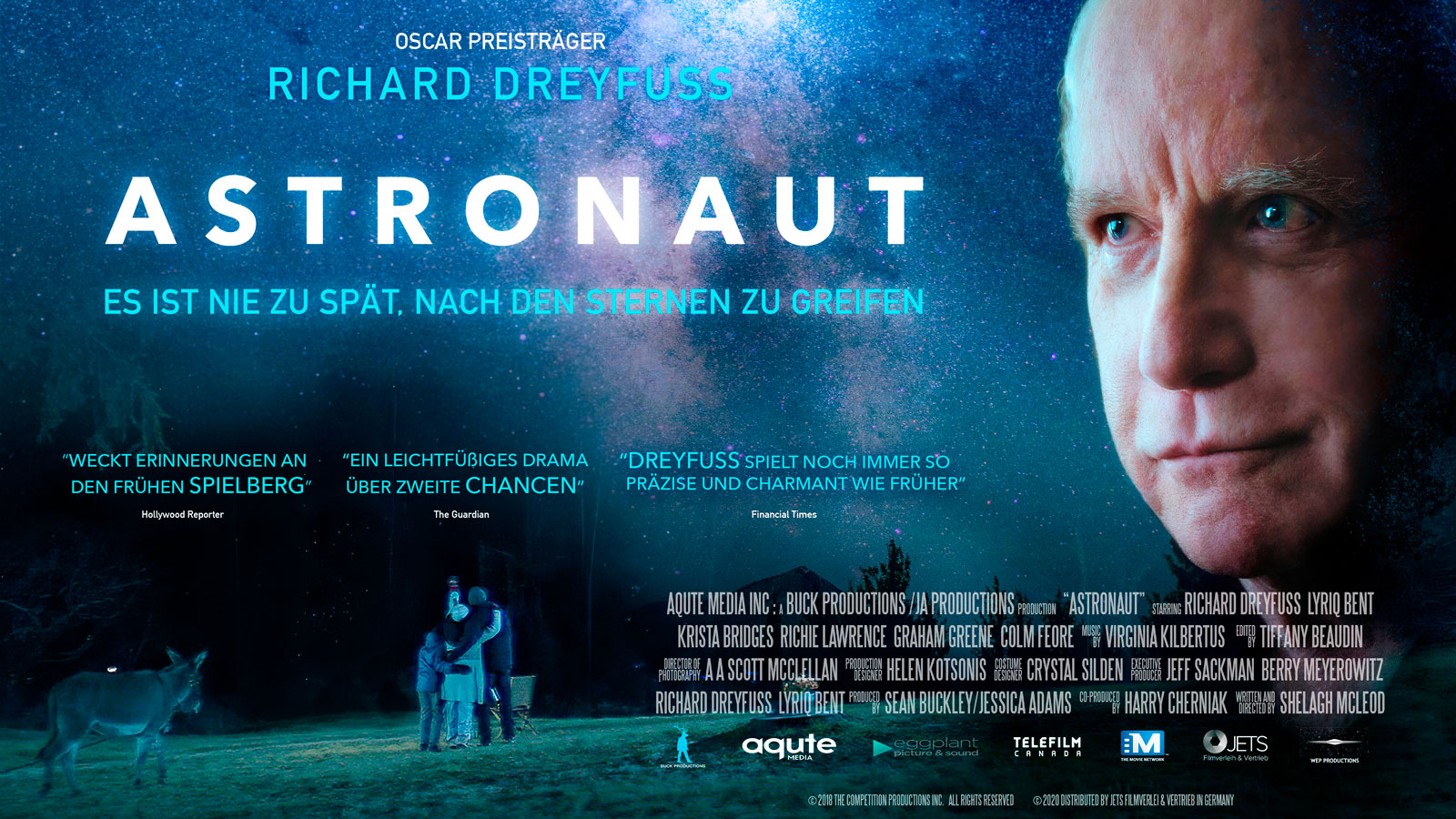Astronaut Movie Poster